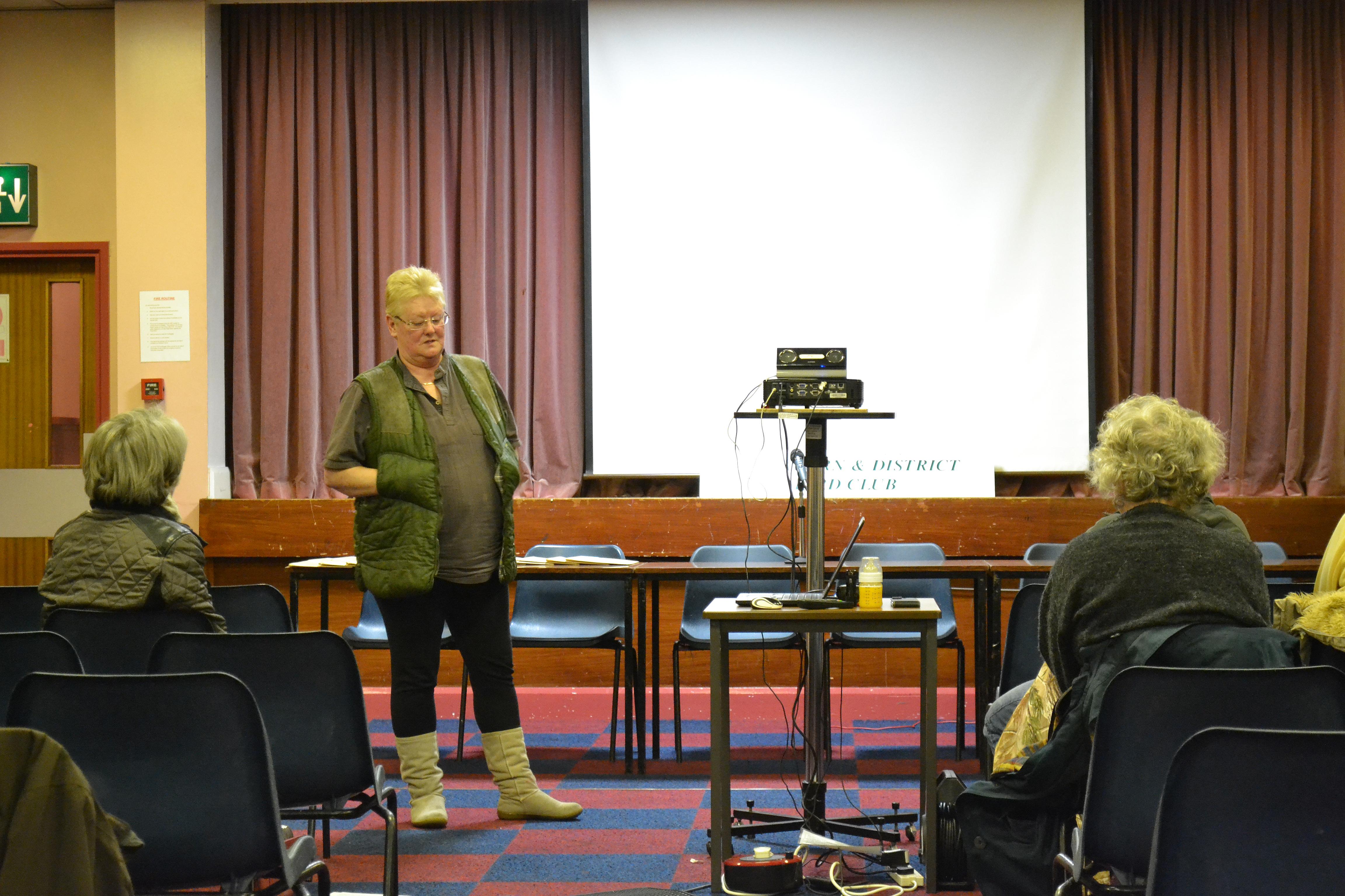 Guest Speaker Pauline Greenhalgh