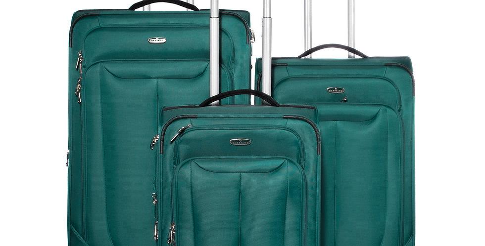 The Bellagio Collection Expandable Softside Spinner Luggage Set