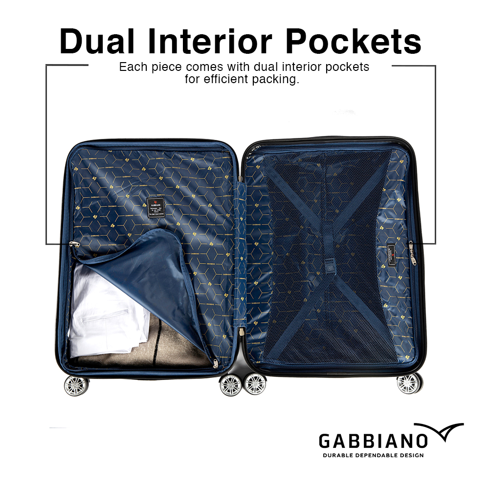 Dual Interior Pocket