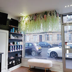 Floral Ceiling Installations