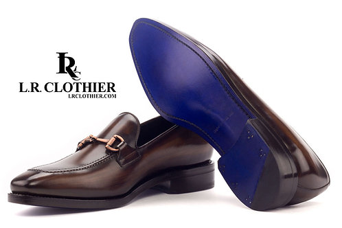 PATINA LOAFER IN BROWN