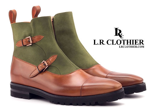 OCTAVIAN LEATHER & SUEDE BOOT