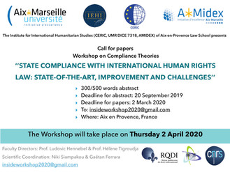Call for Papers - States Compliance With International Human Rights Law