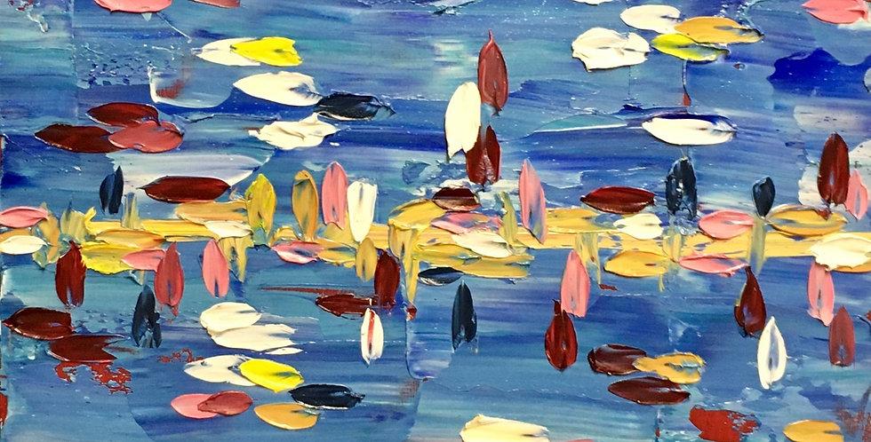 Docked | 12x12in | Framed Oil Painting