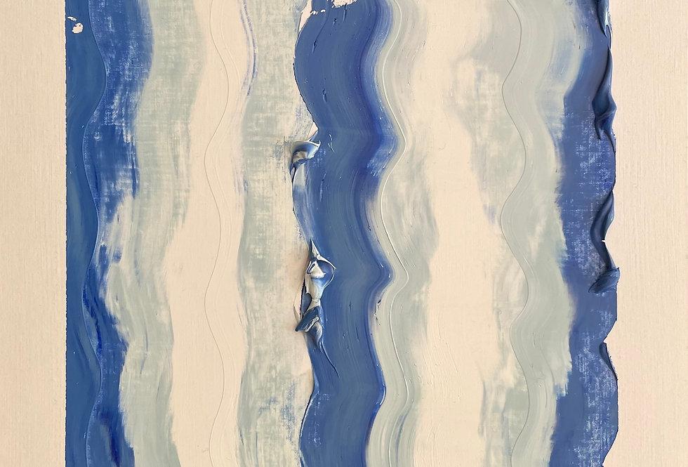 Seaside Scrape| 12x9in | Unframed Oil Painting