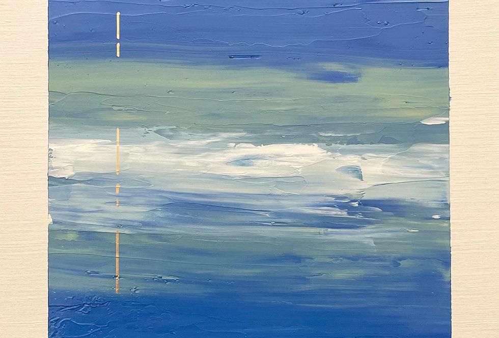 Metallurgic   9x12in   Unframed Oil Painting