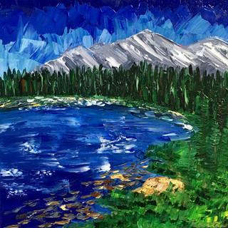 """Colorado Reflections, 12""""x12"""""""