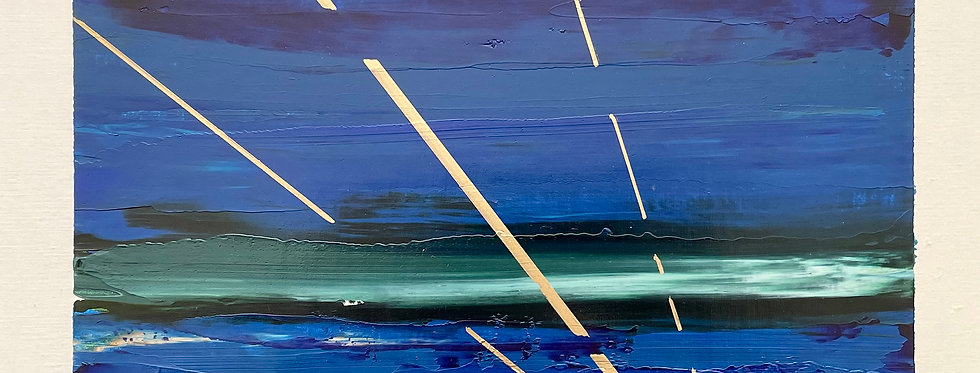 Gleam   9x12in   Unframed Oil Painting