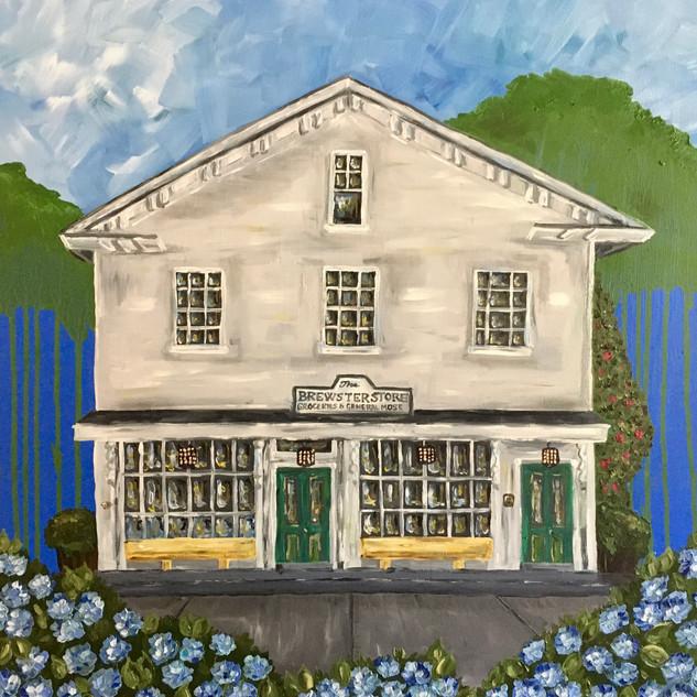 "Brewster Store, 20""x20"""