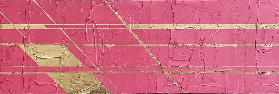Open Window   6x24in   Unframed Oil Painting