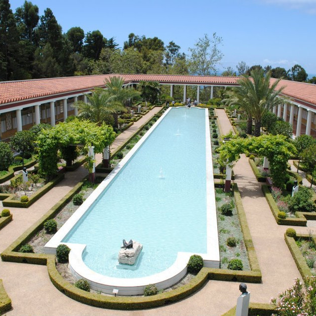 The Getty Villa, Pacific Palisades, CA