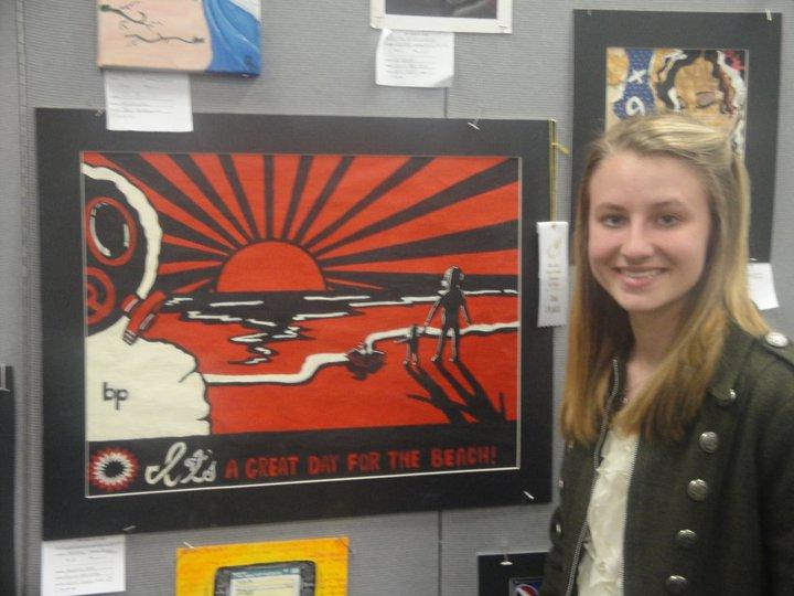 Niceville HS Art Show, Third Place