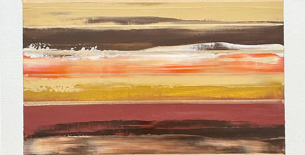 Slab   12x12in   Unframed Oil Painting