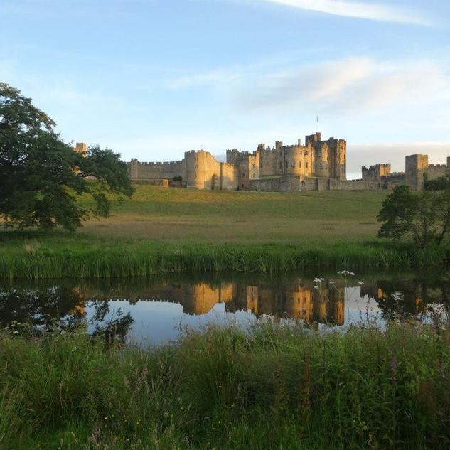 Alnwick Castle, Northumberland, UK
