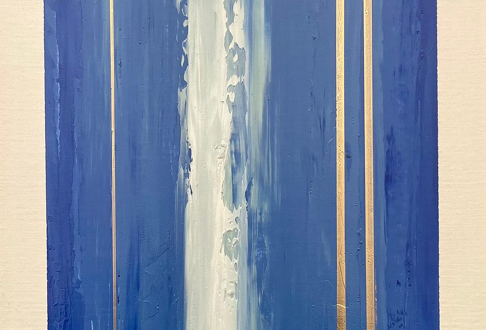 Ingot | 12x9in | Unframed Oil Painting