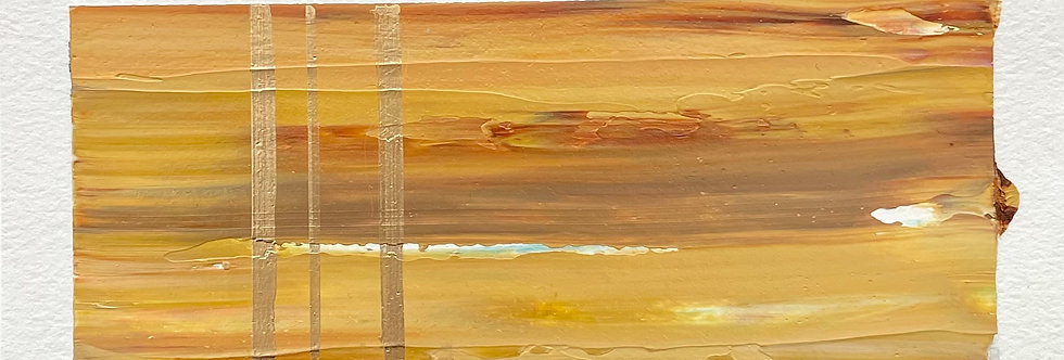 Scintillation | 3.5x7.5in | Unframed Oil Painting