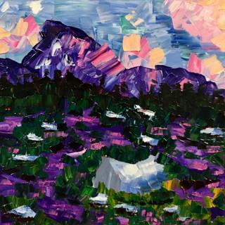 """Colorado Meadow, 12""""x12"""""""