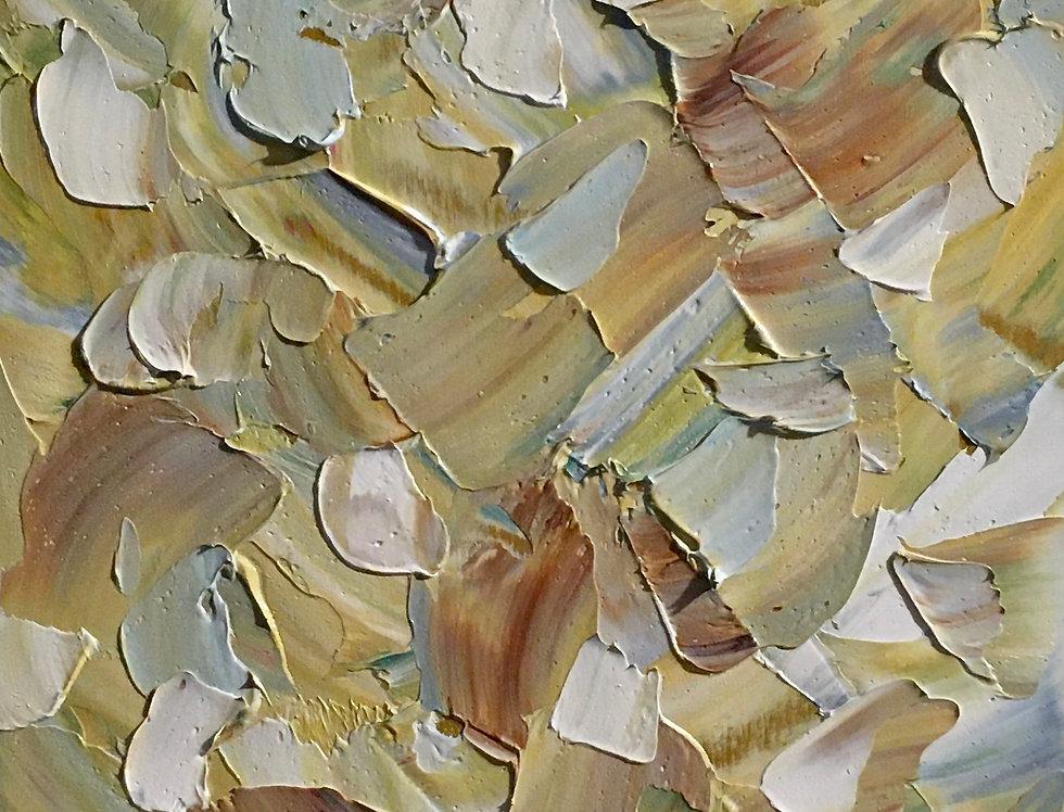 Broken Slivers | 12x6in | Framed Oil Painting