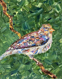 Glaess_Kerstin_Happy Bird_Oil_8%22x10%22