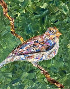 Glaess_Kerstin_Happy Bird_Oil_8%22x10%22.JPG
