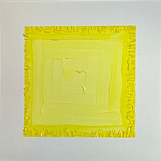 "Deep Cut   Yellow, 12""x12"""