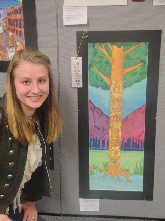 Niceville HS Art Show, 3rd Place