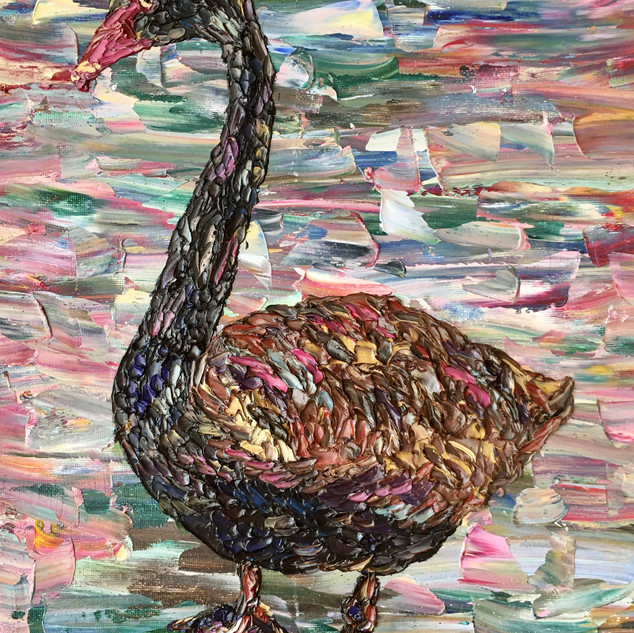 """Silly Goose, 14""""x11"""""""