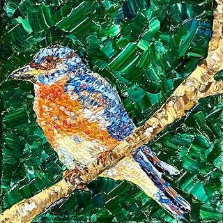 """Bluebird, 6""""x6"""""""