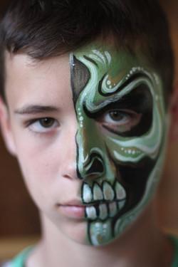 Green Half Mask