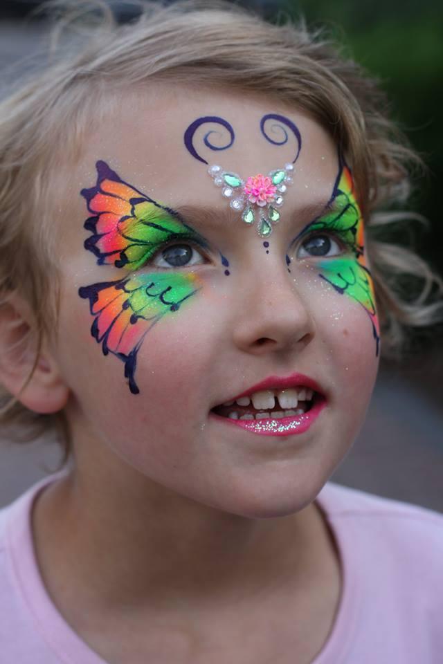 Bling Neon Butterfly