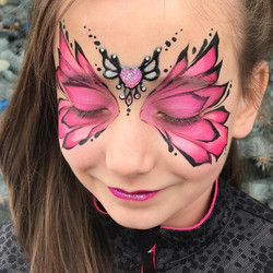 Pink Bling Butterfly