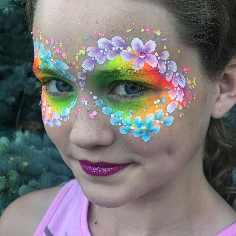 Bright Flower Mask