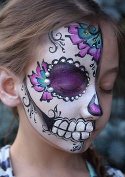 Sugar Skull | Calgary Face Painting