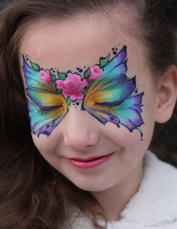 Rose Fairy | Calgary Face Painting