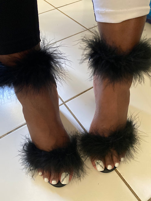 Holly Furry Heel