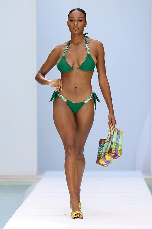 Rich Doll Bikini Set (GREEN)