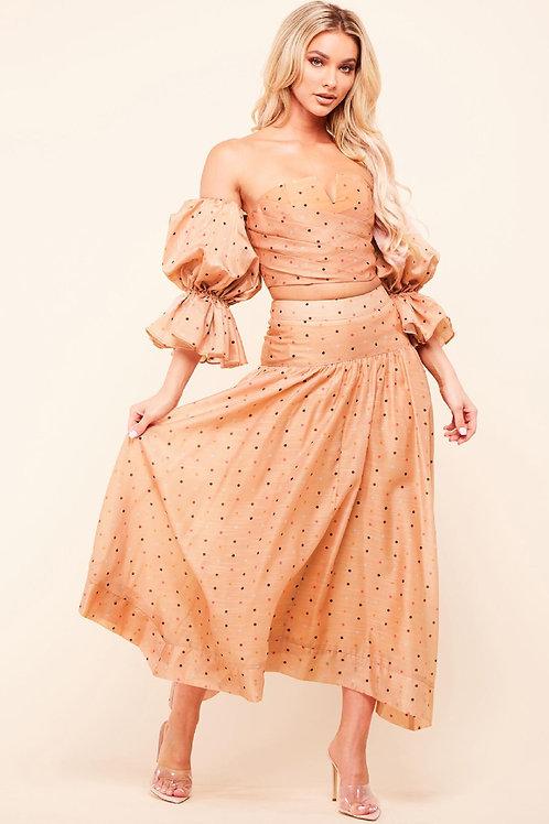 Melia Mid-length Skirt