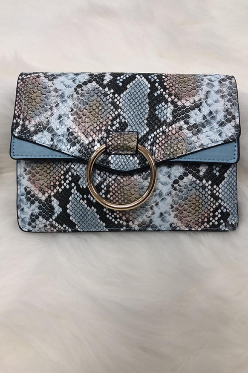 Ella Vegan Snakeskin Mini Bag