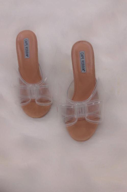 Valenti Nude Bow-Tie Heel