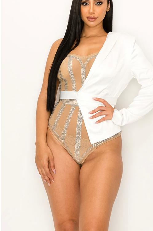 Natalie Bodysuit- White