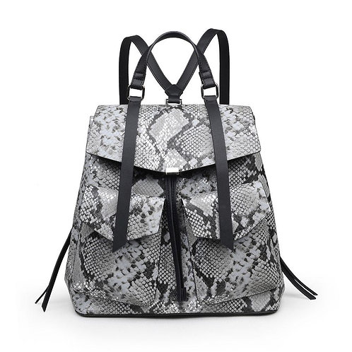 Cobra Snake Print Backpack