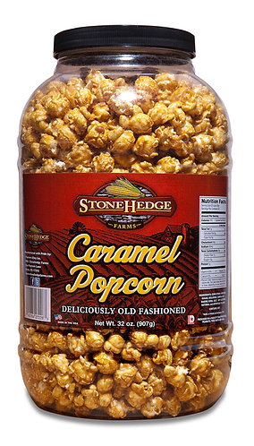 Caramel Popcorn Barrel