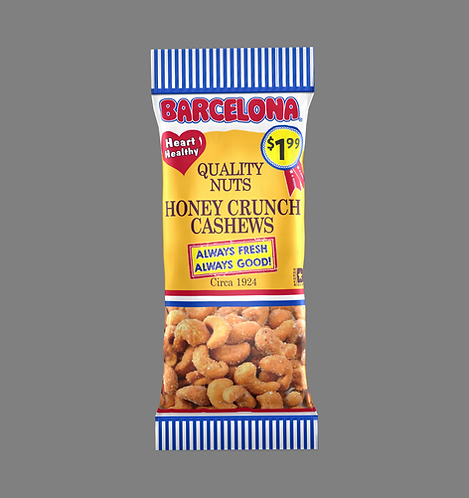 Honey Crunch CashewsValue Retro
