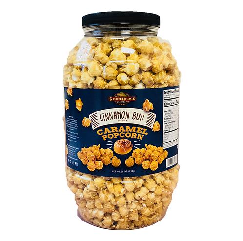 Cinnamon Bun Flavored Caramel Popcorn