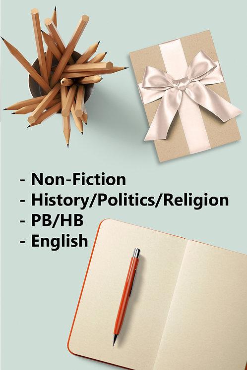 Surprise Book - New PB/HB. Non Fiction, History/Politics/Religion