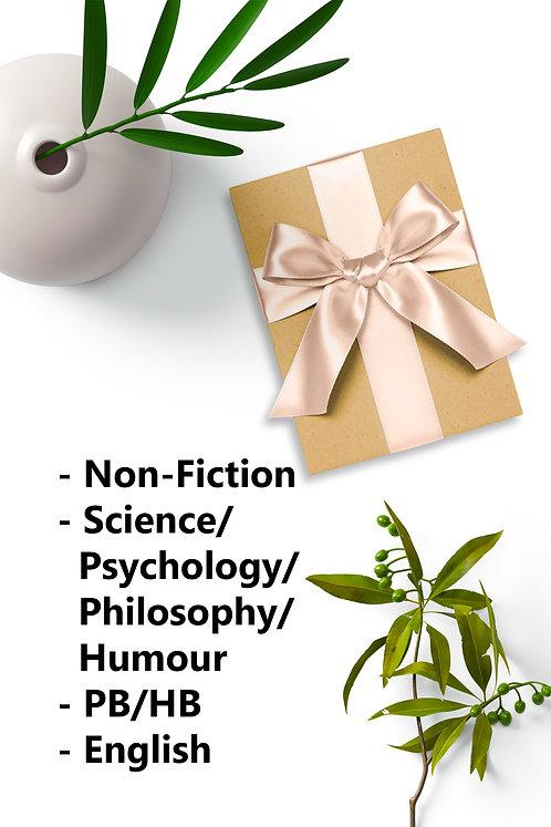 Surprise Book - New PB/HB. Non Fiction, Science/Psychology/Philosophy/Humour