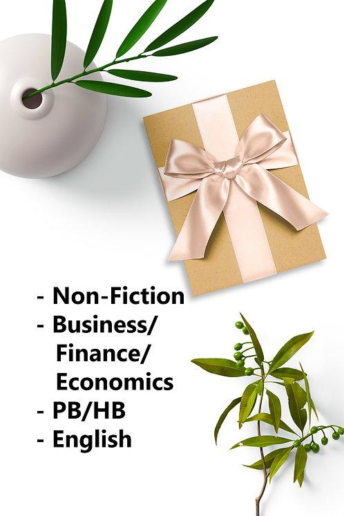 Surprise Book - New PB/HB. Non Fiction, Business/Finance/Economics