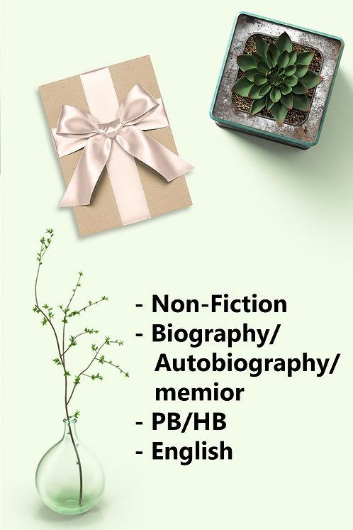 Surprise Book - New PB/HB. Non-Fiction, Auto-Bio / Biography / Memoir