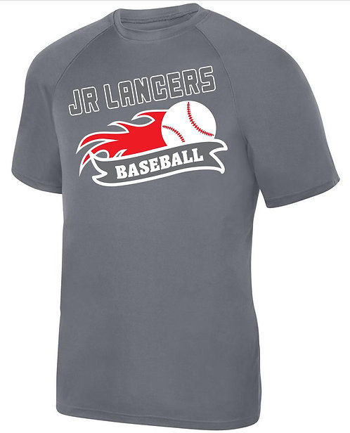 Gray Short Sleeve Dri-fit T-Shirt