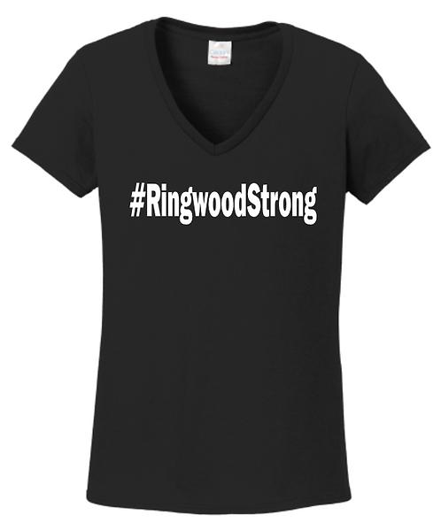 #RingwoodStrong V-Neck T-Shirt